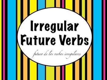 Spanish Future Tense Irregular Verbs Keynote Slideshow Pre