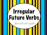 Spanish Future Tense Irregular Verbs PowerPoint Slideshow Presentation