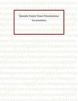 Spanish: Future Tense Presentations