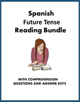 Spanish Future Tense Reading Bundle: 4 Readings at 35% off! (futuro)