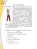 Spanish Future Tense Reading (Complete the text)