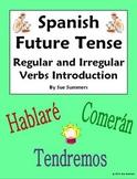 Spanish Future Tense Regular and Irregular Verbs Introduction