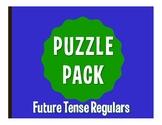Spanish Regular Future Tense Puzzle Pack