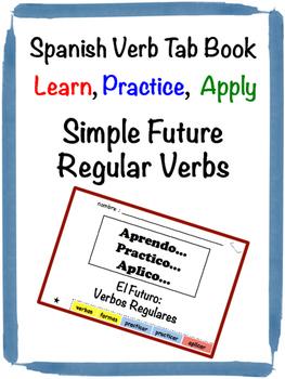 Spanish Future Tense (Regular) Tab Book