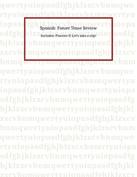 Spanish: Future Tense Review