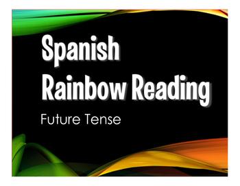 Spanish Future Tense Stations