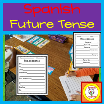 Spanish Future Tense - TFL and Dual Language applications