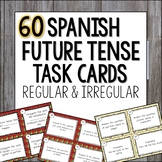 Spanish Future Tense Task Cards