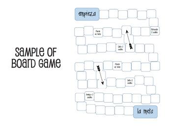 Spanish Future Tense Topics for Conversation/Games