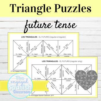 Spanish Future Tense (el futuro) Conjugation Puzzles