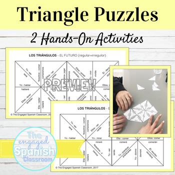 Spanish Future Tense Puzzles