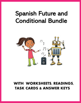 Spanish Future and Conditional Bundle: 5 Resources @30% OFF!