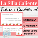 EDITABLE Spanish Future and Conditional Tense Hot Seat Gam