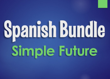 Spanish Future and Conditional Monster Bundle