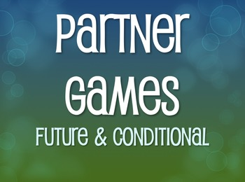 Spanish Future and Conditional Partner Games