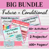 Spanish Future and Conditional Tense BIG BUNDLE: el Futuro y el Condicional