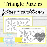 Spanish Future and Conditional Tense Conjugation Puzzles