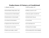 Spanish Future and Conditional Translations
