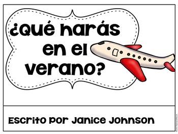 Spanish Future tense Verbs Reader & Build-A-Book ~ el futuro
