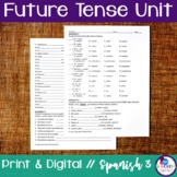 Spanish Future Tense Bundle - Regular & Irregular Verbs