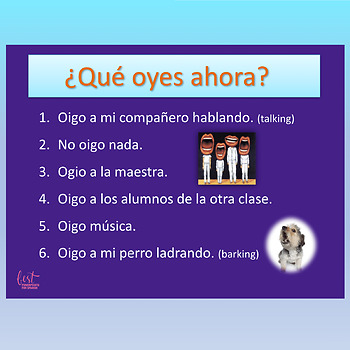 Spanish GO Verbs Dice Game and Paired Speaking Activity