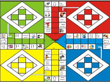 Spanish Game: AR VERB conjugation game