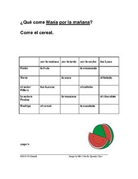 La Comida - Food (Info Gap Game)