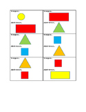 """Spanish Game: """"I Have, Who Has"""" Colors and Shapes"""