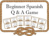 SER, ESTAR, HACER, IR, TENER Spanish Game I Have, Who Has