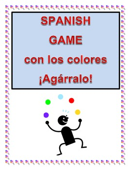 Spanish Game for learning colors