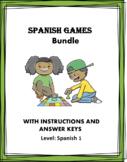 Spanish Games Bundle - Juegos en Español - 6 Fun Games!