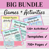 Spanish Activities and Games BUNDLE | 120+ Spanish Games