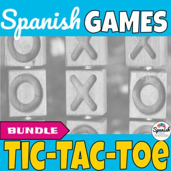 Spanish Games: Tic-Tac-Toe Bundle