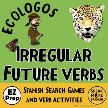 Spanish Games for Irregular Future Verbs. Juegos de Verbos Irregulares Futuro