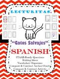 "NO PREP Reading - Spanish ""Gatos Salvajes"" STAAR Lecturitas Compare & Contrast"
