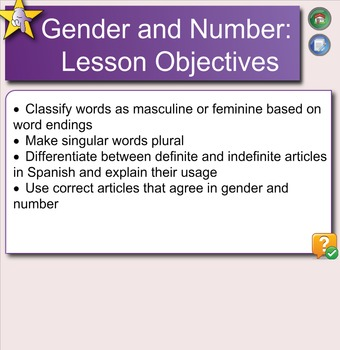 Spanish Gender, Number, and Articles
