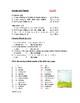 Spanish Gender and Plurals Handout / Worksheet: El / La / Los / Las
