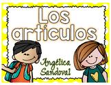 El genero El artículo Articles in Spanish