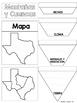 Regiones Geograficas de Tejas Reading Passages and Lapbook