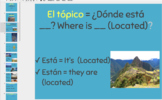 Spanish Geography 4 Lesson Presentation with Quiz'