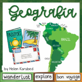 Spanish Geography of South America
