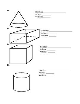 Spanish Geometry Test