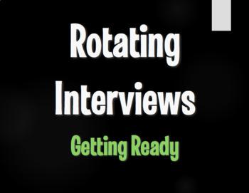 Spanish Getting Ready Rotating Interviews
