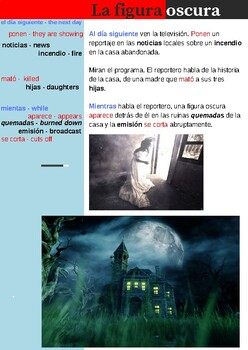 Spanish Ghost Story and Activities