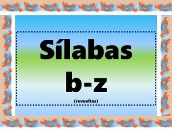 Spanish Giant, Syllable Flash Cards/Tarjetas gigantes (Mixed)