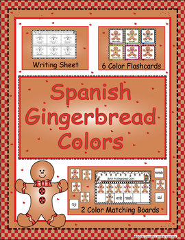 Spanish Gingerbread Colors