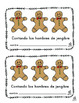 Spanish Emergent Reader: Gingerbread Man Counting Book