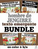 Spanish Emergent Reader Bundle: Gingerbread Man