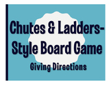 Spanish Giving Directions Chutes and Ladders-Style Game