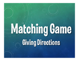 Spanish Giving Directions Matching Game